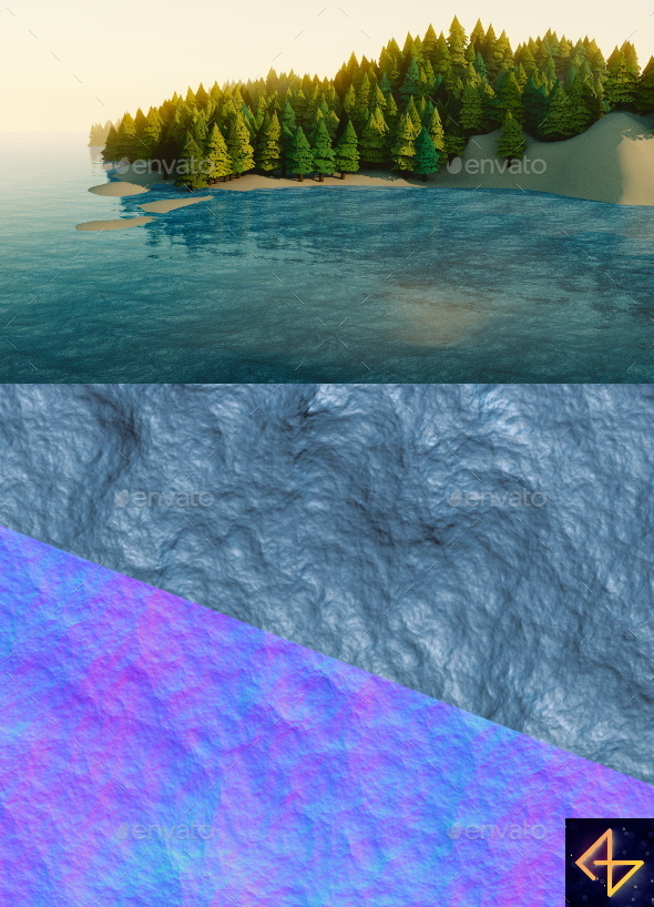 3DOcean Animated sea texture 14052110