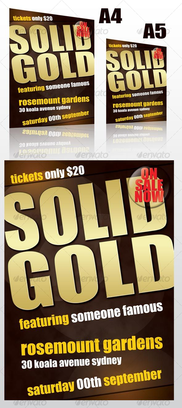 GraphicRiver Events Flyer A4 and A5 55515