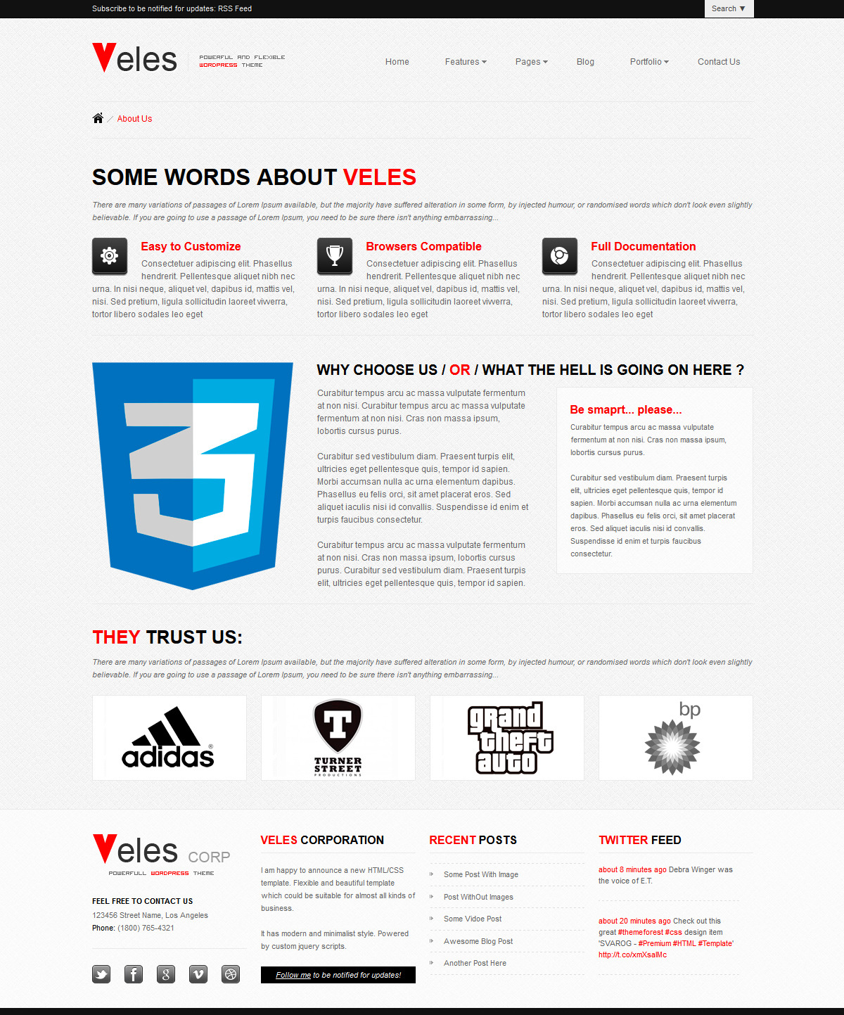 VELES - Premium WordPress Theme