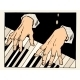Piano Keys Pianist Hands