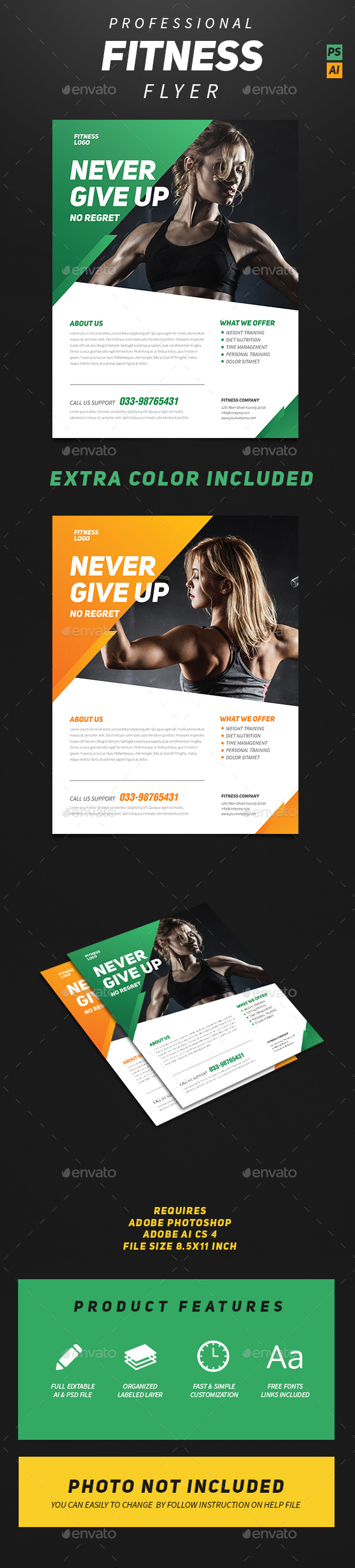 Professional Fitness Flyer