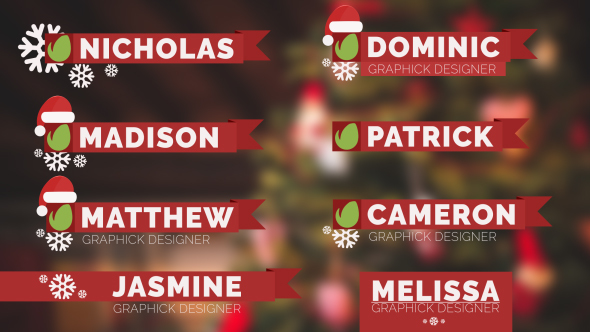 Christmas lower thirds holidays after effects templates f5 christmas lower thirds holidays after effects templates maxwellsz