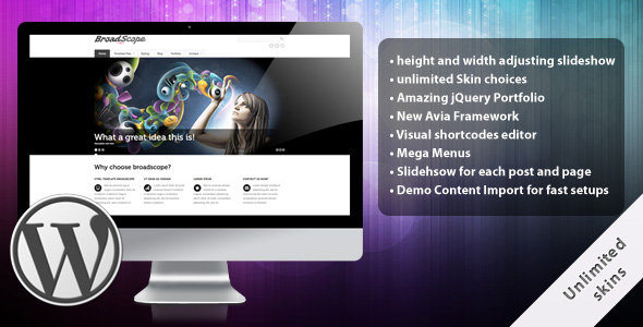 BroadScope Wordpress Theme