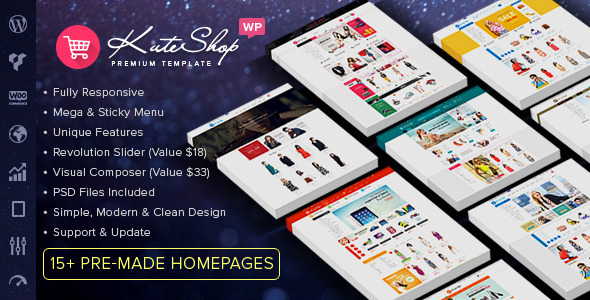 6 - KuteShop - Multipurpose WooCommerce WordPres Theme