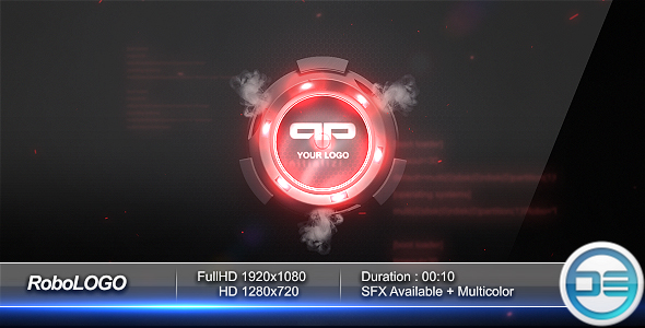 After Effects Project - VideoHive RoboLogo 166709