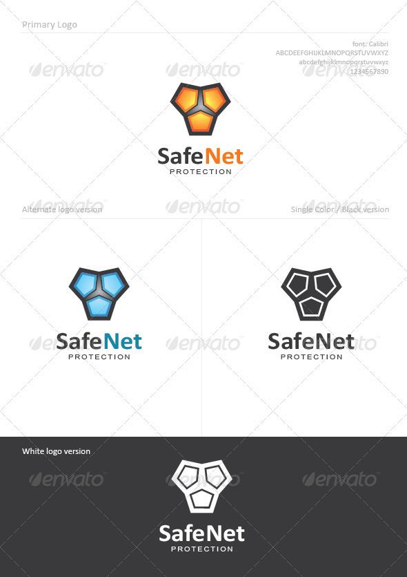 SafeNet - Symbols Logo Templates