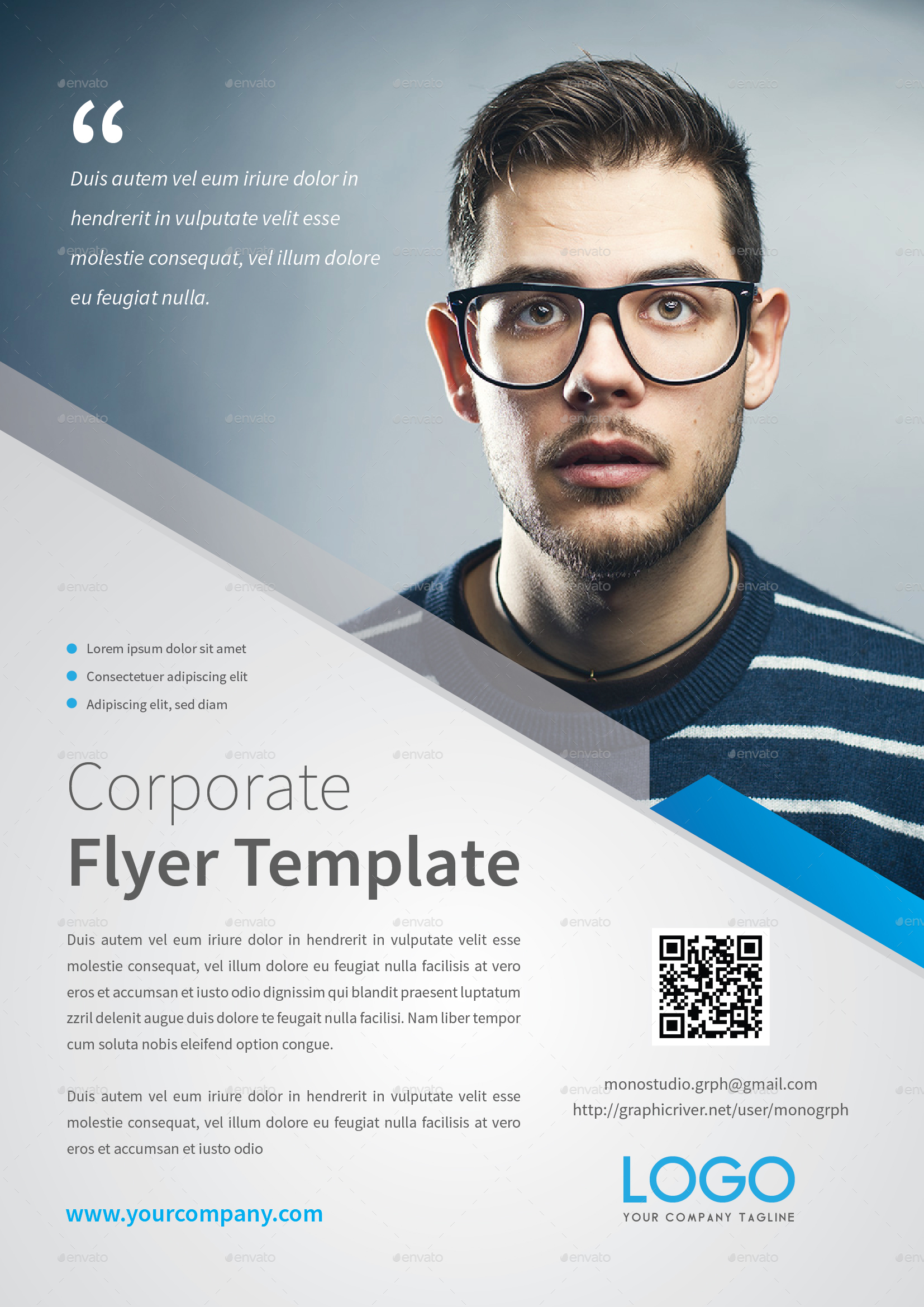 Corporate Flyer Template by MONOGRPH – Corporate Flyer Template