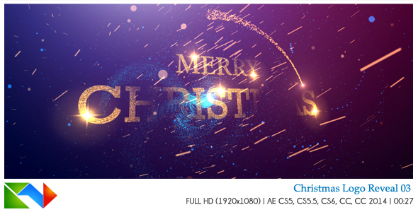 Christmas Logo Reveal 03 - After Effects Template ...