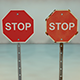 Stop Sign Game Asset