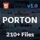 Porton | Responsive Multi-Purpose HTML5 Template