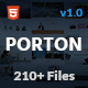 Porton | Responsive Multi-Purpose HTML5 Template - ThemeForest Item for Sale