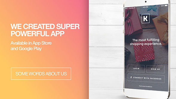 Download Trendy - App Promo nulled download