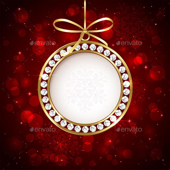 Christmas Ball with Diamond