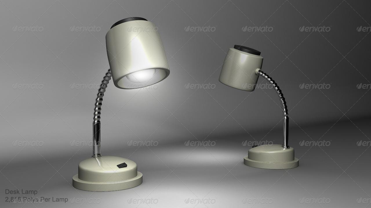 3DOcean Desk Lamp 166934