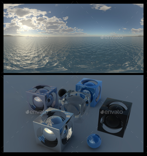 Coastal Clouds - HDRI - 3DOcean Item for Sale