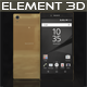 Element3D - Sony Xperia Z5 Premium Gold