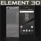 Element3D - Sony Xperia Z5 Premium Chrome