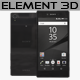 Element3D - Sony Xperia Z5 Premium Black