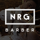 NRG Barber Shop - One Page Theme For Hair Salon - ThemeForest Item for Sale