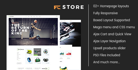 FCstore - Multipurpose Responsive Magento Theme