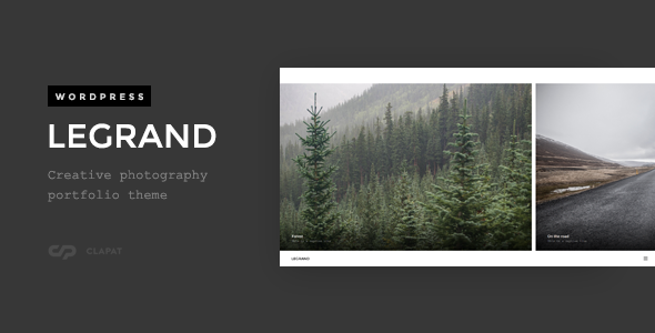 27 - Legrand - Creative Photography Portfolio Theme