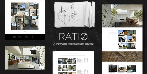 Download Ratio - A Powerful Architecture Theme nulled download