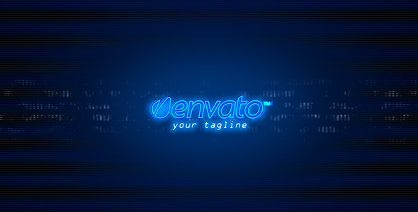 After Effects Project - VideoHive Neon Logo 1406615