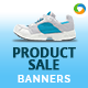 HTML5 E-Commerce Banners - GWD - 7 Sizes
