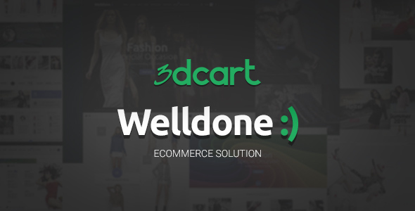 Welldone - 3Dcart theme