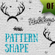 Christmas Pattern Shape
