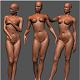 Female Sculptures (Hi Poly)