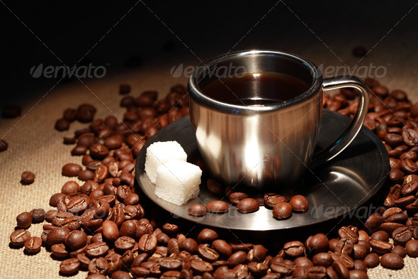 Black Coffee - Stock Photo - Images