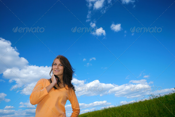 Happy girl - Stock Photo - Images