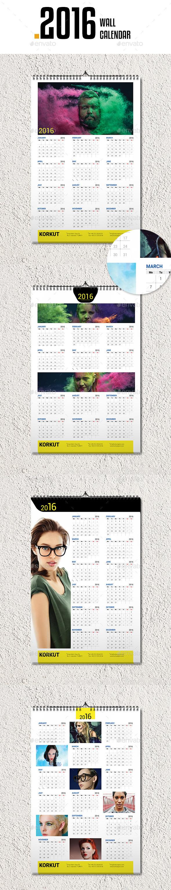 Wall Calendar 2016 v4