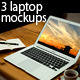 3 Laptop Mock-ups