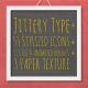 Jittery Type +