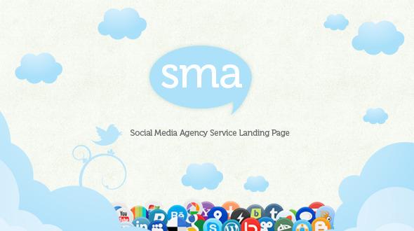Social Media Agency - Landing Page