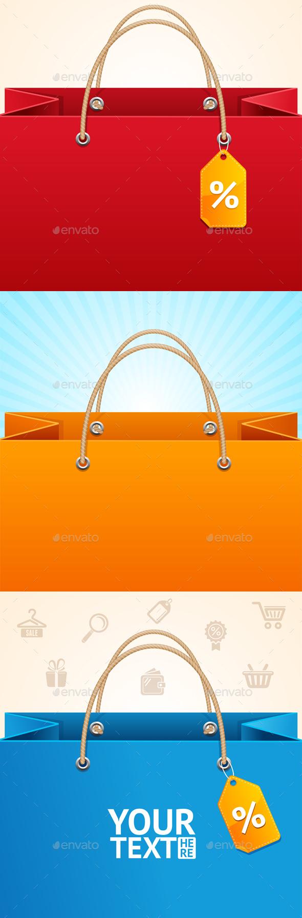 Paper Bag Background Sale