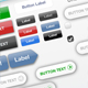 Web UI 2.0 Menus and Buttons - GraphicRiver Item for Sale