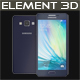 Element 3D Samsung A5 Blue
