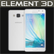 Element 3D Samsung A5 White