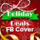 Holiday Deals Facebook Timeline Cover