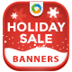 HTML5 Holiday season Banners - GWD - 7 Sizes