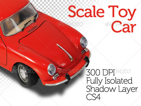 Scale Toy Car