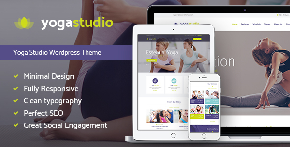 27 - Yogastudio, Gym and Healthcare WP Theme