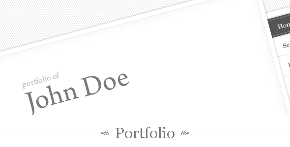 My Portfolio - One Page Theme