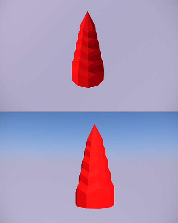 Low Poly Tree - 4 - 3DOcean Item for Sale