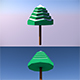 Low Poly Tree - 6