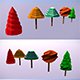 Low Poly Trees - 2