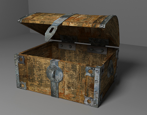 Old chest - 3DOcean Item for Sale